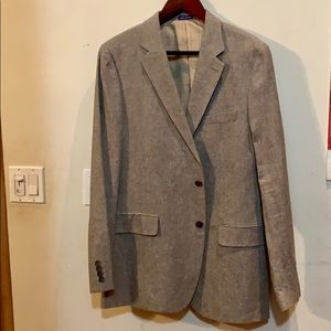Stafford Men's brown tweed sport coat
